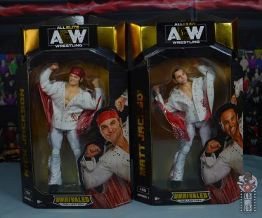 aew the young bucks figure review - package front