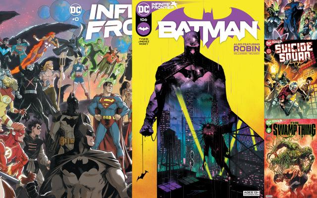 dc comics reviews - 3-2-21