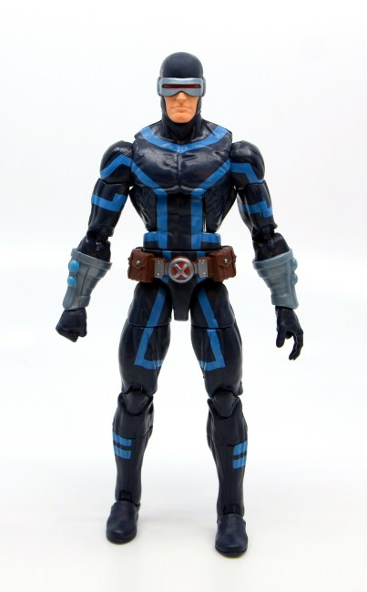 marvel legends house of x cyclops figure review - front