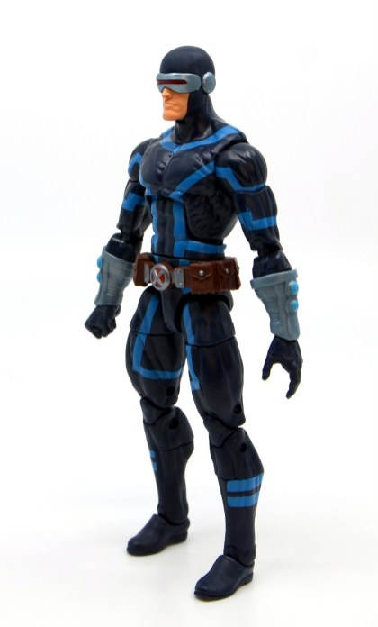 marvel legends house of x cyclops figure review - left side