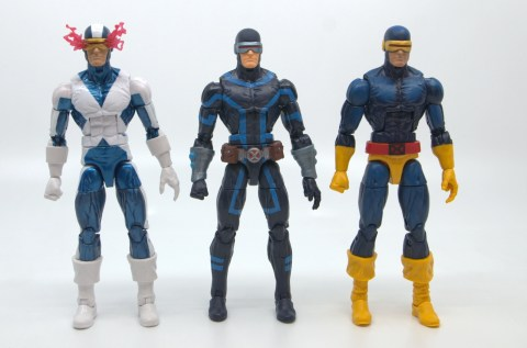 marvel legends house of x cyclops figure review - with x-factor and cockrum cyclops