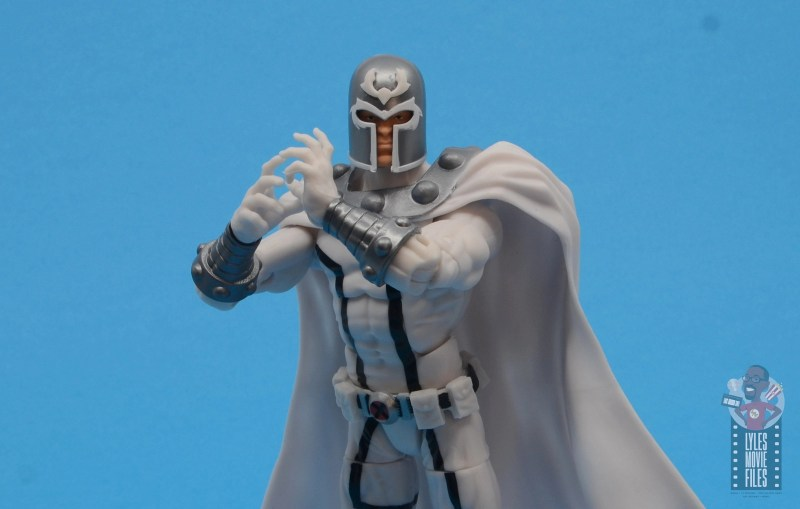 marvel legends house of x magneto figure review - hands clasped