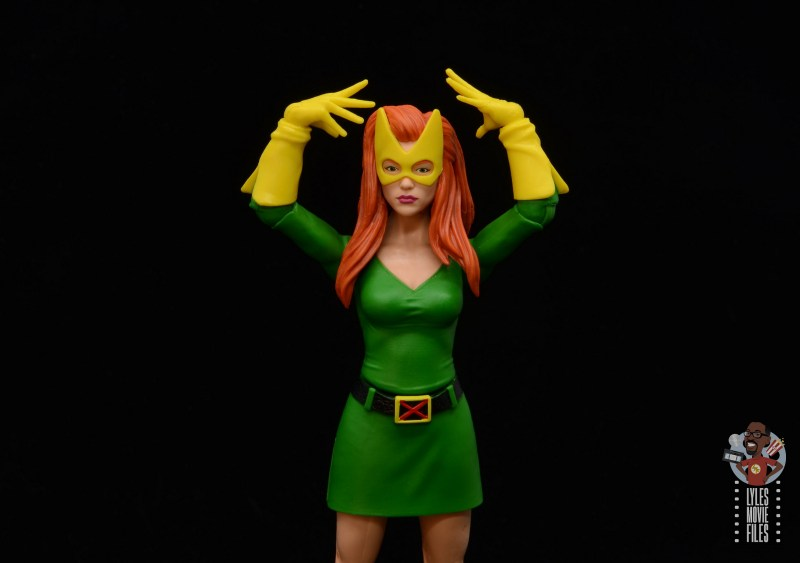marvel legends house of x marvel girl figure review - concentrating