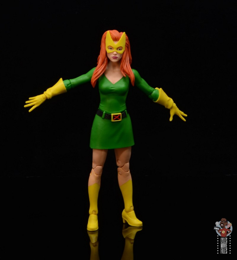 marvel legends house of x marvel girl figure review - ready for a fight