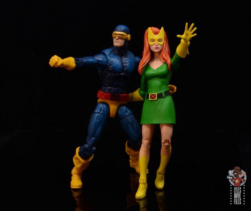 marvel legends house of x marvel girl figure review - uncanny x-men cover