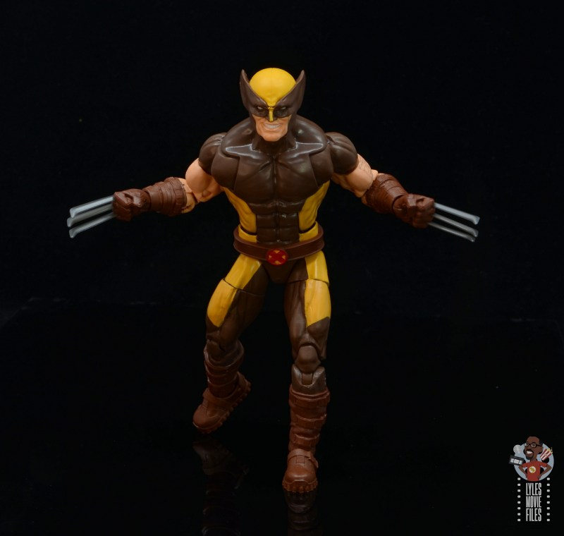 marvel legends house of x wolverine figure review - advancing forward