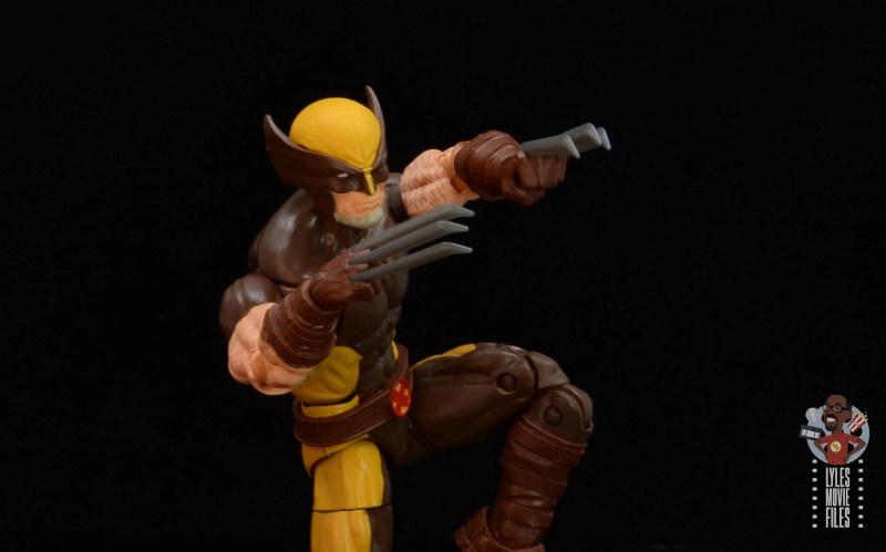 marvel legends house of x wolverine figure review - claws close up