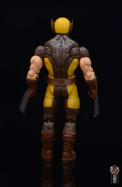 marvel legends house of x wolverine figure review - rear