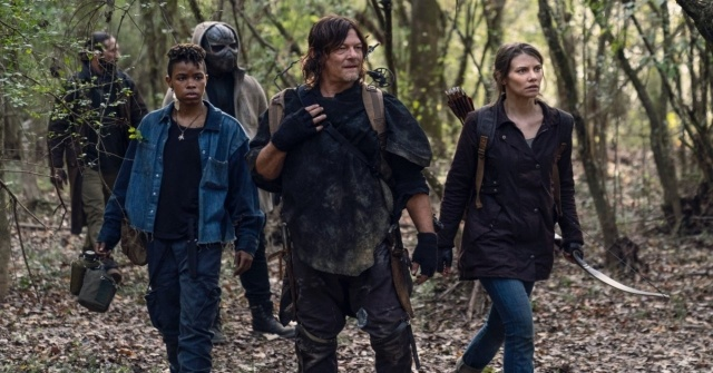 the-walking-dead-home-sweet-home-review - cole, kelly, elijah, daryl and maggie