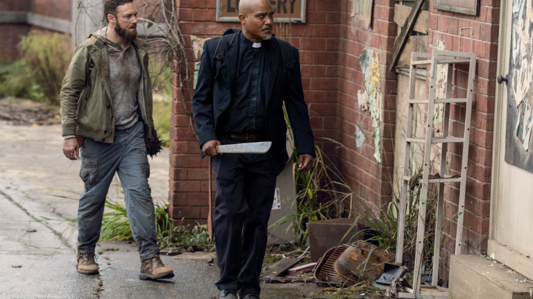the-walking-dead-one more review - aaron and gabriel