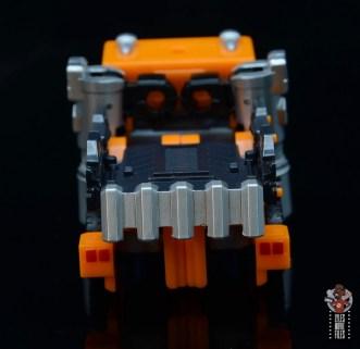 transformers kingdom war for cybertron huffer figure review - truck rear