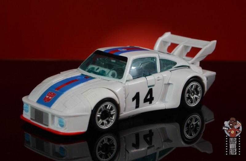 transformers studio series 86 jazz figure review - car mode left side