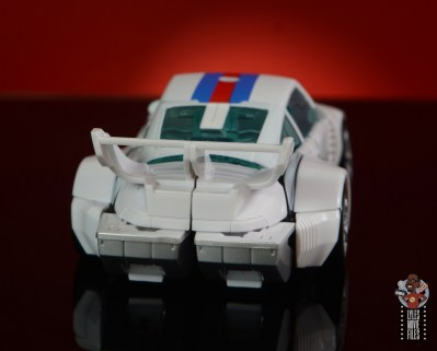 transformers studio series 86 jazz figure review - car mode rear