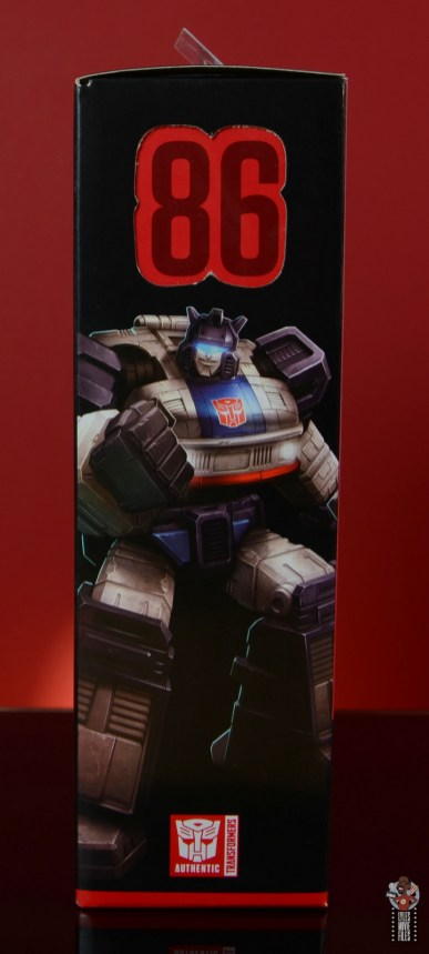 transformers studio series 86 jazz figure review - package right side