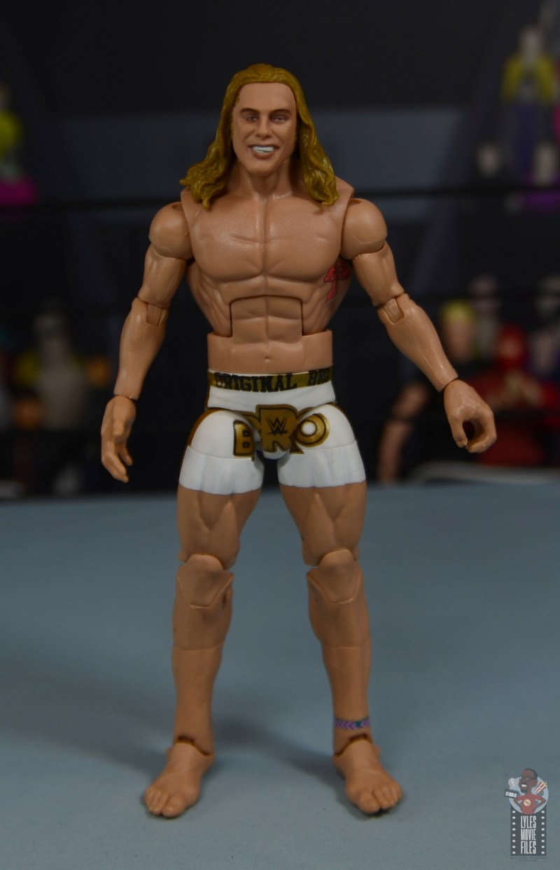 wwe elite 78 matt riddle figure review - front