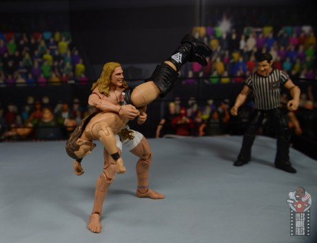 wwe elite 78 matt riddle figure review - gutwrench suplex to cole1