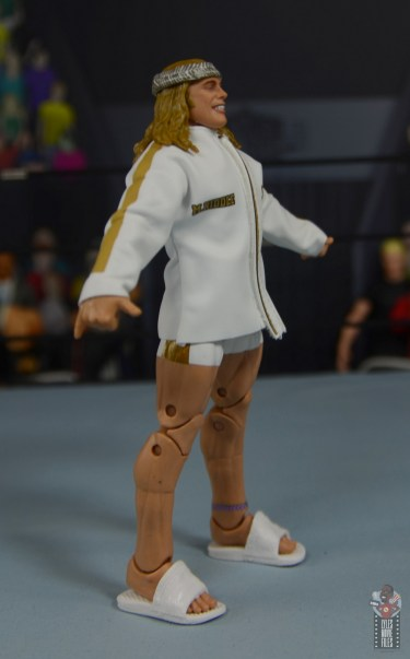 wwe elite 78 matt riddle figure review - ring gear right side