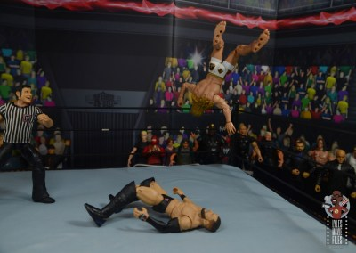 wwe elite 78 matt riddle figure review -twisting moonsault to finn balor