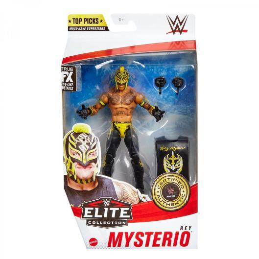 wwe elite top picks rey mysterio -package front