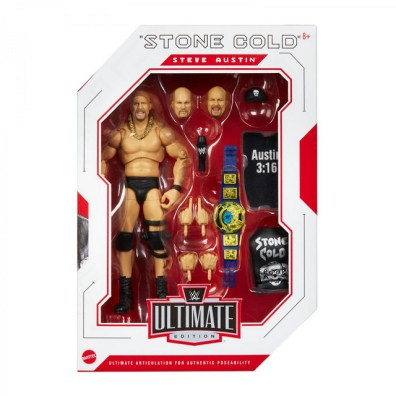 wwe ultimate edition stone cold steve austin -in package