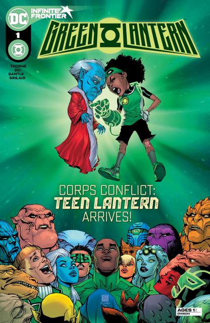 Green-Lantern #1