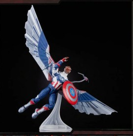 Hasbro Pulse Fan First Monday - captain america flying