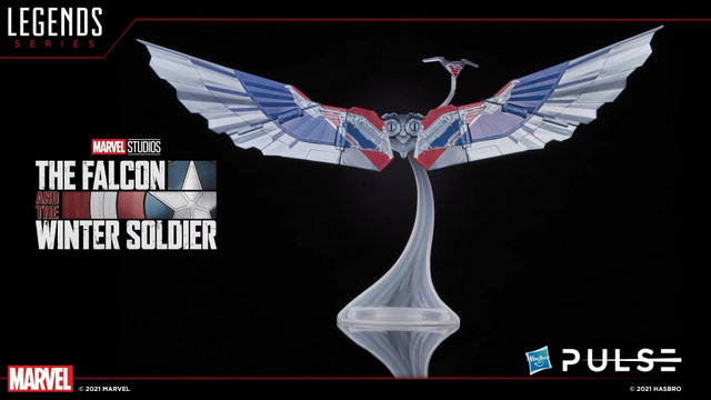 Hasbro Pulse Fan First Monday - captain america wings