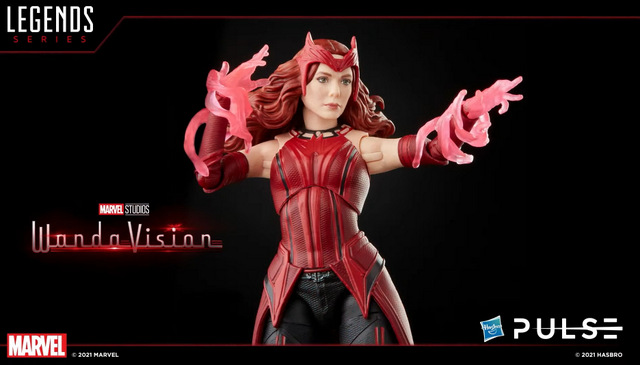 Hasbro Pulse Fan First Monday - scarlet witch close up
