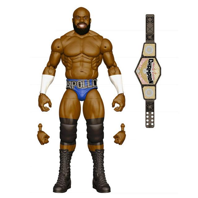 Mattel WWE Wrestlemania 2021 figure reveals elite 87 - apollo crews