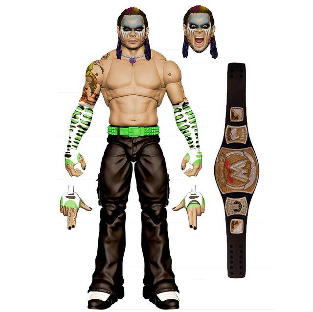 Mattel WWE Wrestlemania 2021 figure reveals ultimate edition jeff hardy