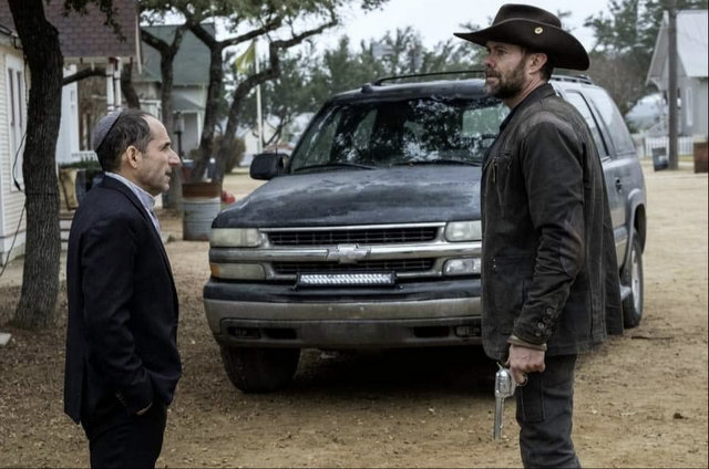 fear the walking dead the key review - rabbi and john dorie