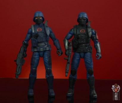 gi joe classified cobra infantry review -front comparison