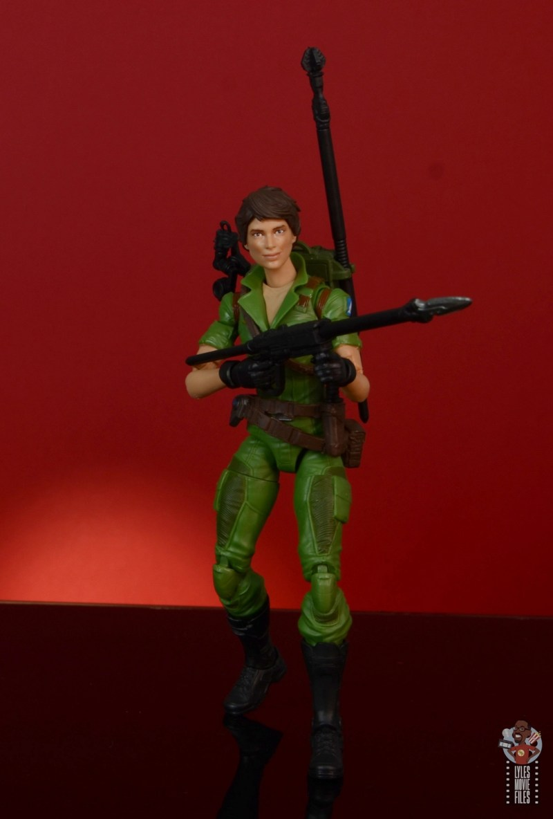 gi joe classified series lady jaye figure review - all geared up