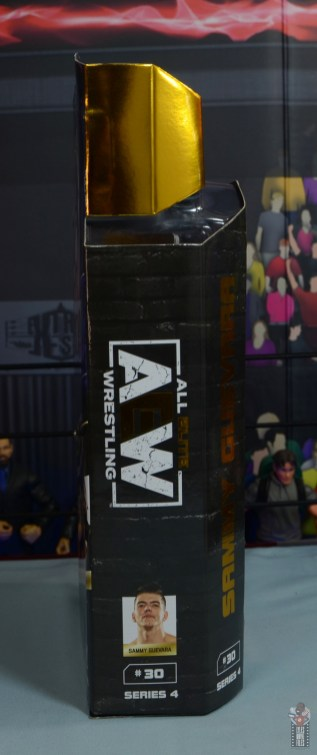 aew unrivaled series 4 sammy guevara review - package right side