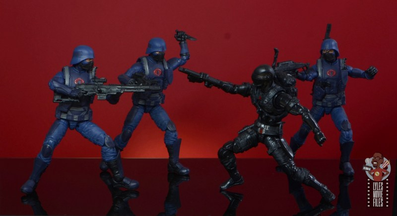 gi joe classified cobra infantry review - coming after snake eyes