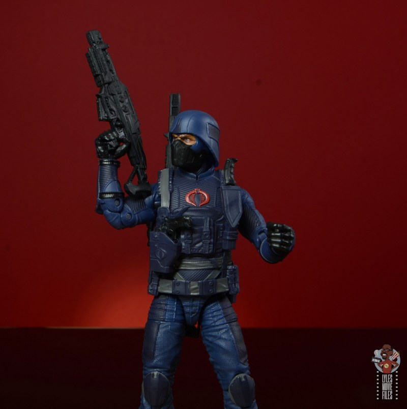 gi joe classified cobra infantry review -raising blaster