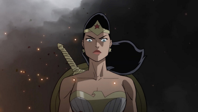 justice society of america world war ii review - wonder woman