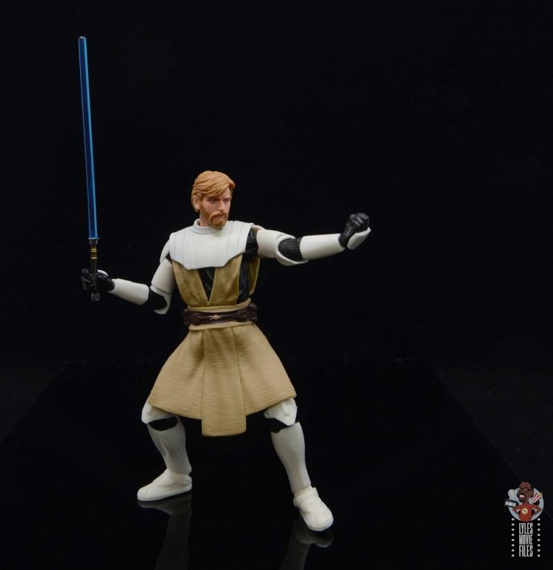 star wars the black series clone wars obi-wan kenobi review -make your move