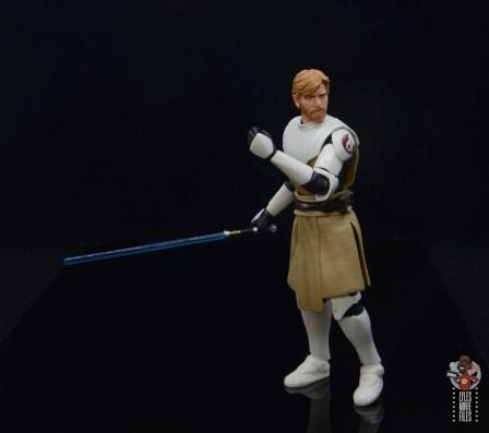 star wars the black series clone wars obi-wan kenobi review - turning