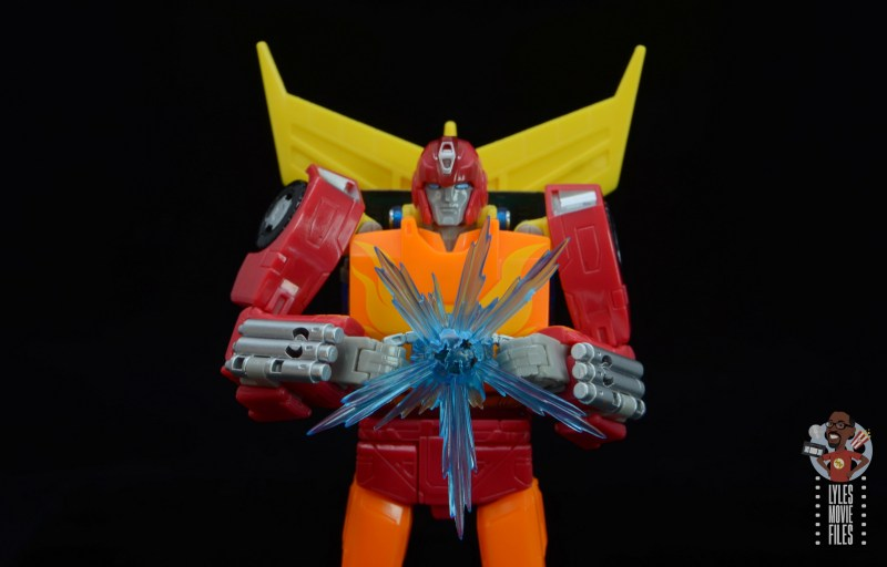 transformers studio series 86 hot rod review - holding the matrix