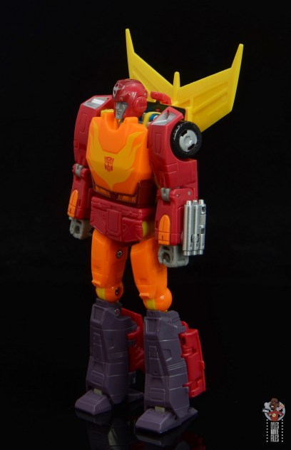 transformers studio series 86 hot rod review - left side