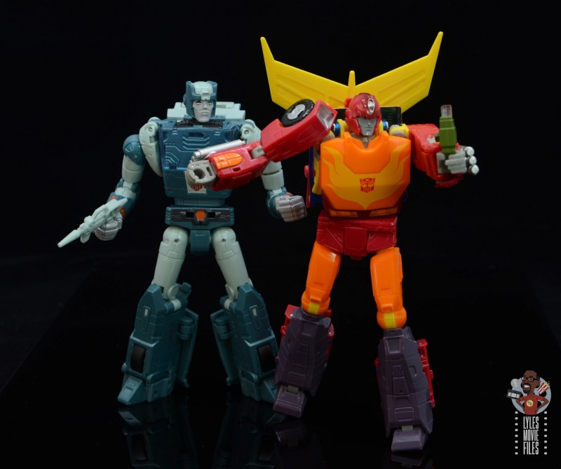 transformers studio series 86 hot rod review - offering up some energon