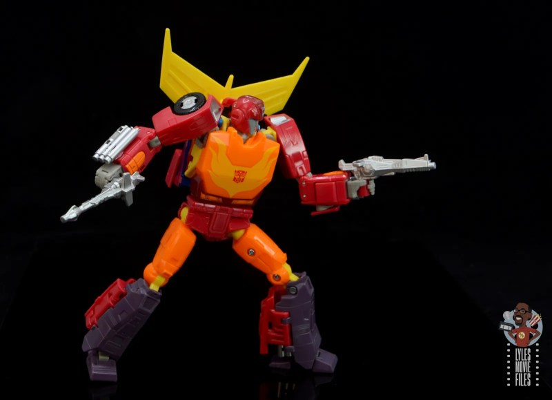 transformers studio series 86 hot rod review - ready with blasters