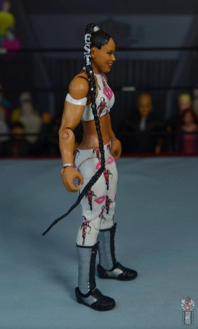 wwe elite bianca belair review - right side