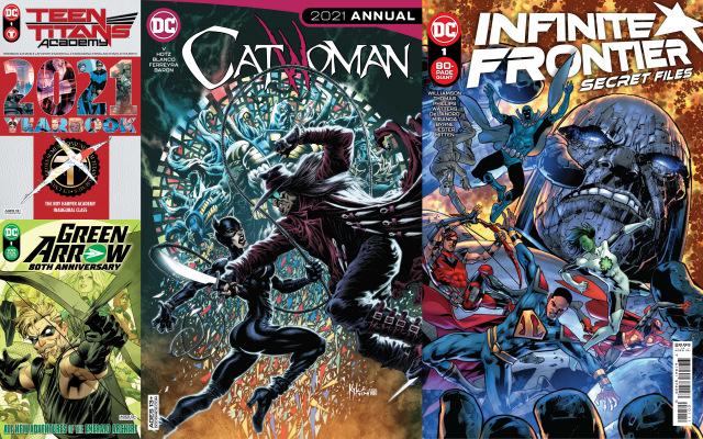 dc comics reviews 6-29-21