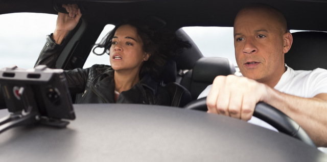 f9 - the fast saga review - letty and dom