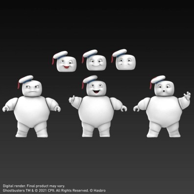 ghostbusters plasma series mini-puffs head options