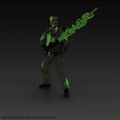 ghostbusters plasma series - venkman glow in the dark
