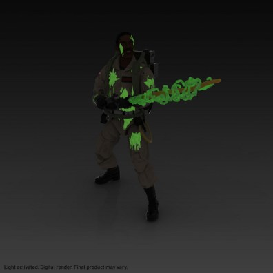 ghostbusters plasma series winston glow in the dark