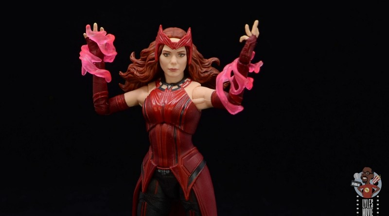 marvel legends wandavision scarlet witch review - main pic